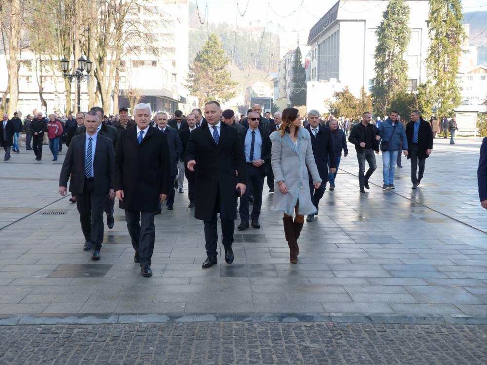 Obilježen 3.januar Dan Opštine i oslobođenja Bijelog Polja