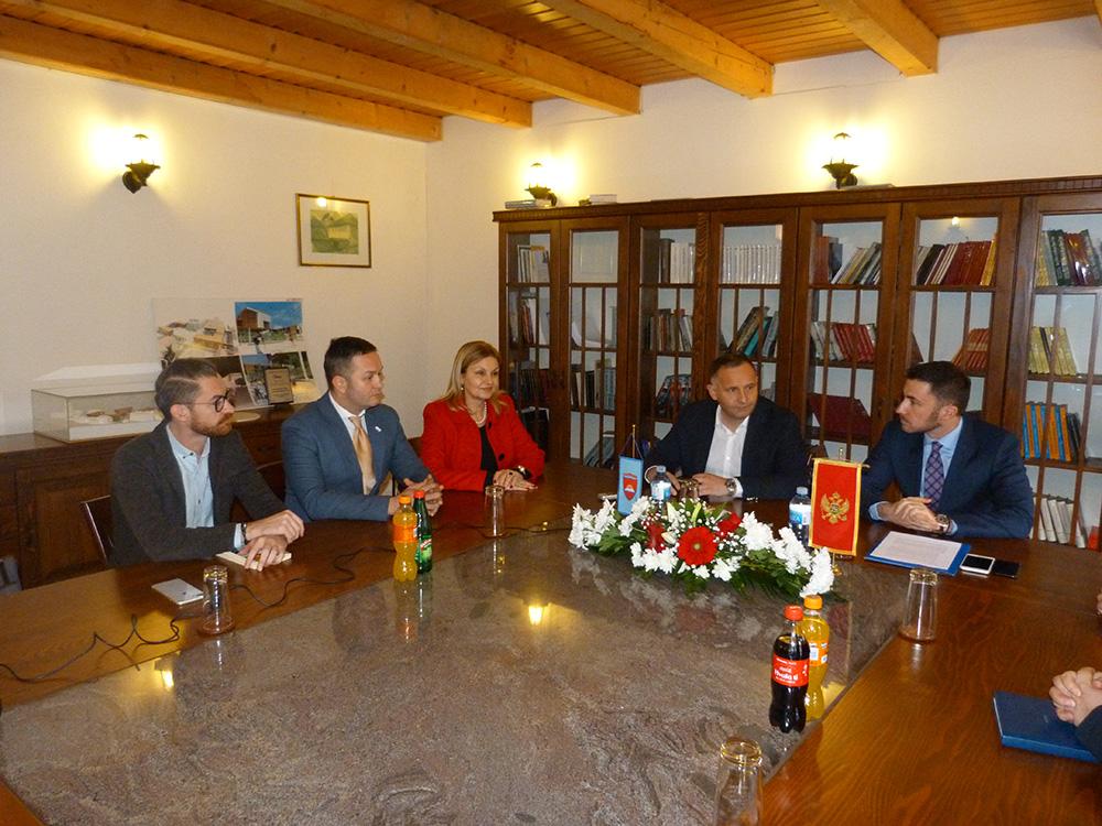 Predsjednik Žurić razgovarao sa ministrom kulture Bogdanovićem