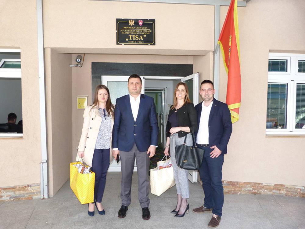 Delegacija Opštine Bijelo Polje posjetila rekonstruisani objekat JU Centar za djecu i mlade sa smetnjama u razvoju ''Tisa''