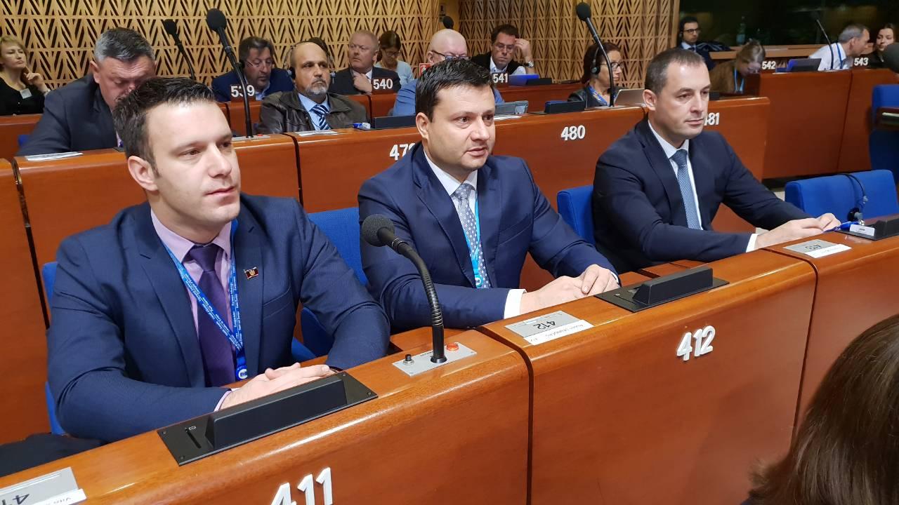 Predsjednik Smolović na čelu crnogorske delegacije u Strazburu