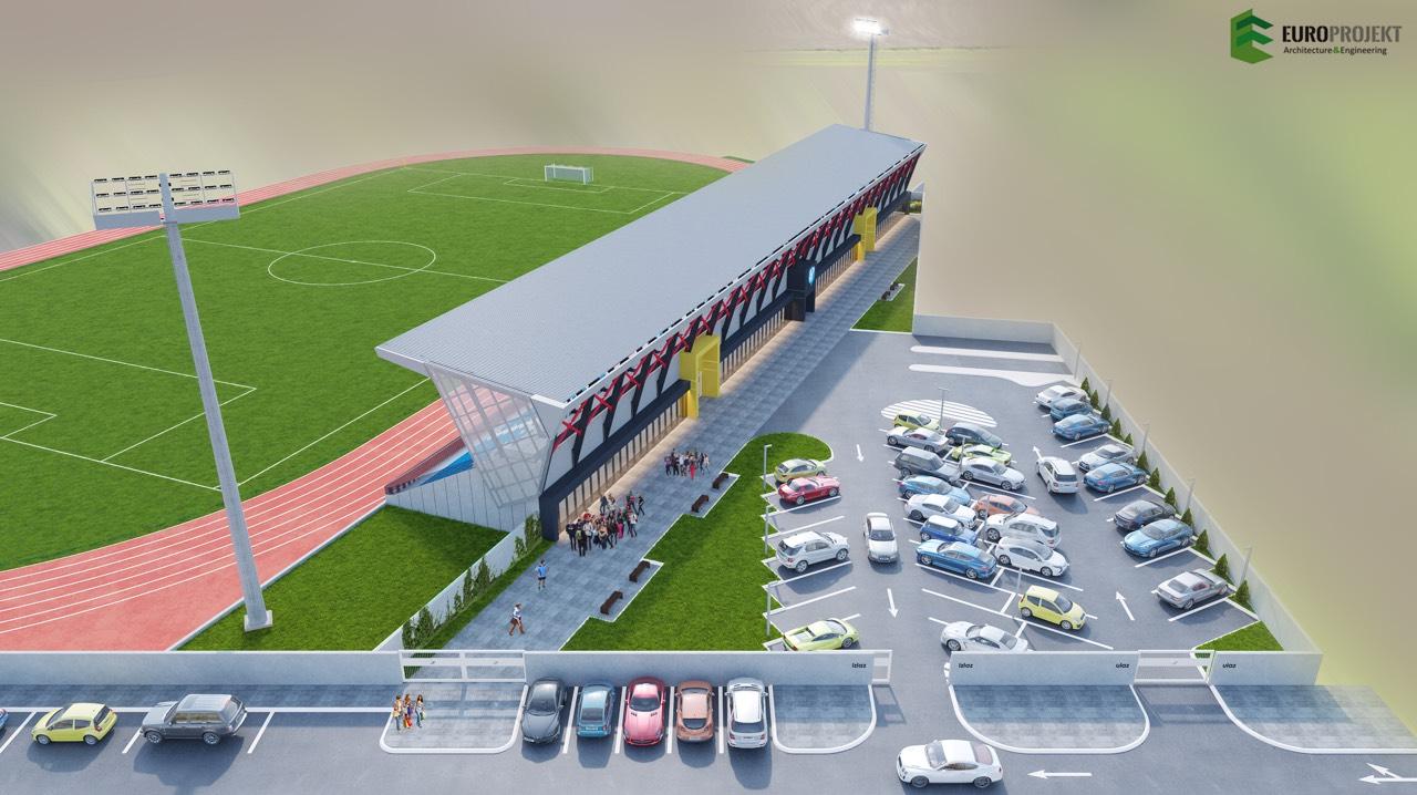 Završen projekat natkrivanja i rekonstrukcije tribina na gradskom stadionu