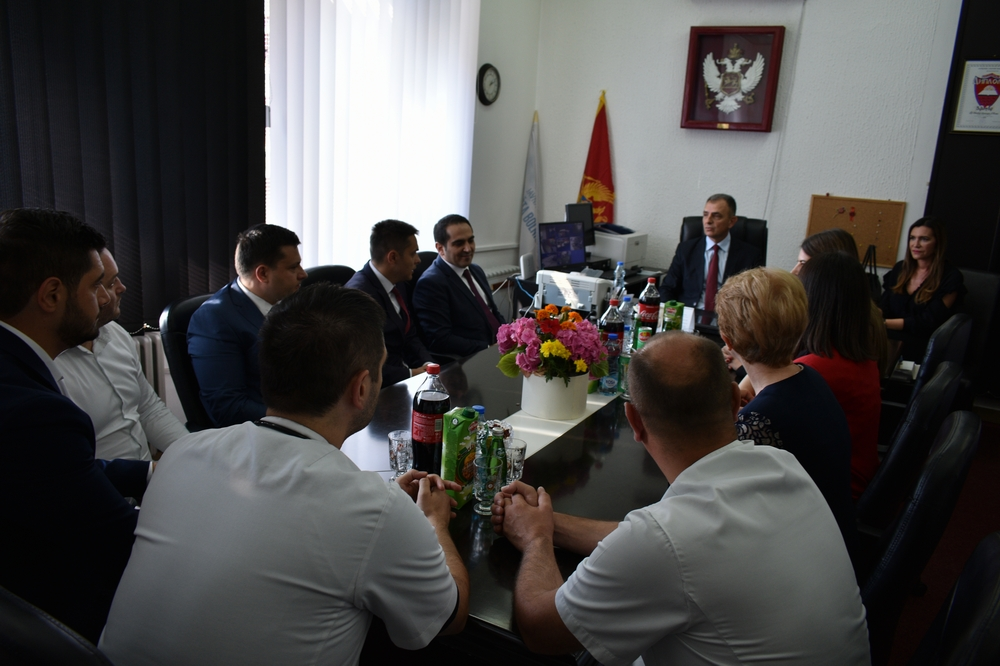 Ozvaničen početak rekonstrukcije i opremanja Operacionog bloka bjelopoljske Opšte bolnice