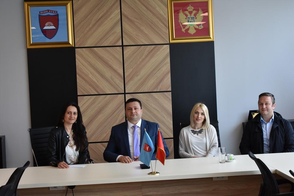 Predsjednici  Smolović i Dizdarević upriličili prijem za čelnice gradskog hora