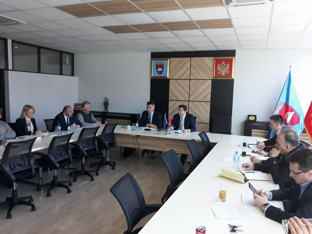Održan sastanak rukovodstava Opštine Bijelo Polje i Željezničke infrastrukture sa ciljem uređenja dijela infrastrukture koja se nalazi u nadležnosti Željeznice