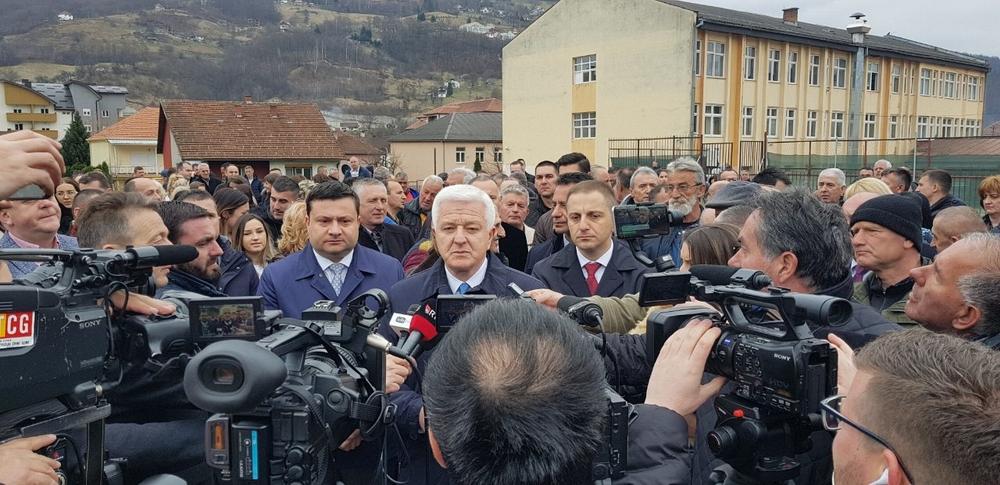 "Položen kamen temeljac  za novi objekat OŠ ,,Dušan Korać"" i Muzičke škole"